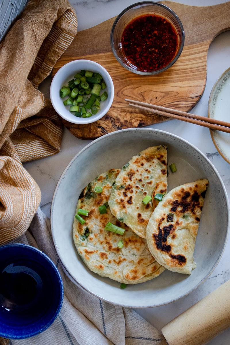 chinese scallion pancakes