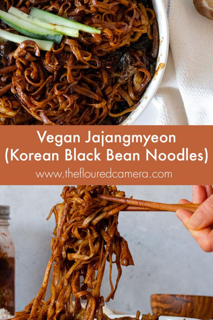 vegan jajangmyeon