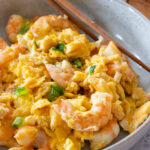 shrimp egg stir fry
