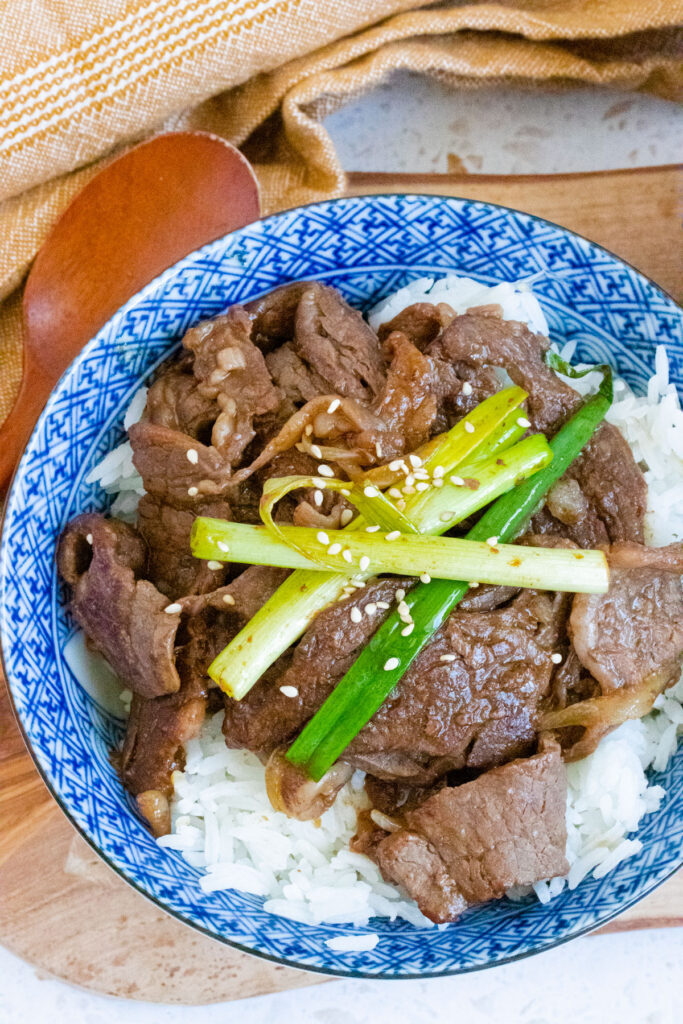 beef onion stir-fry
